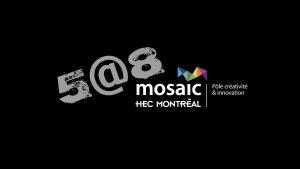 5@8 MOSAIC with André Faleiros (Cirque du Soleil)