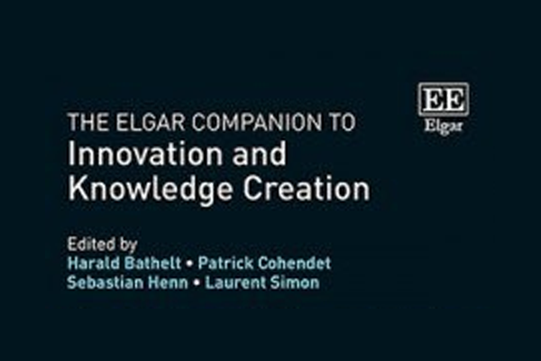« The Elgar Companion to  Innovation and Knowledge Creation » par Patrick Cohendet et Laurent Simon