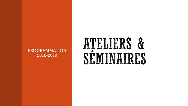 SÉMINAIRE DE TRANSFERT: Avec Frédéric Créplet (E'nergys)